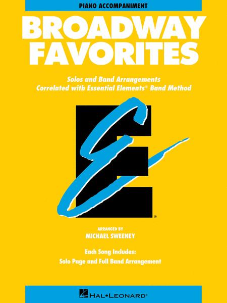 Broadway Favorites - Piano Accompaniment