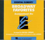 Broadway Favorites - Accompaniment CD Only