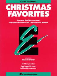 Christmas Favorites - Eb Alto Saxophone