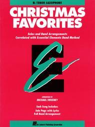 Christmas Favorites - Bb Tenor Saxophone