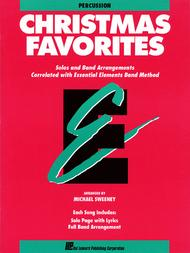 Essential Elements Christmas Favorites (Percussion)