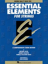 Essential Elements for Strings - Book 2 (Double Bass)