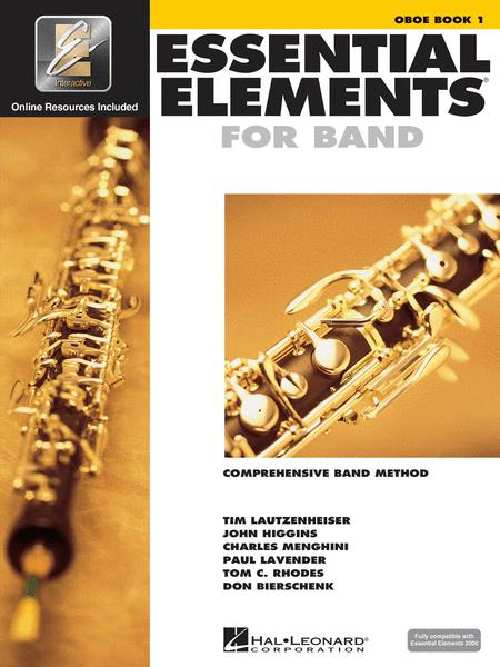 Essential Elements for Band - Oboe Book 1 with EEi