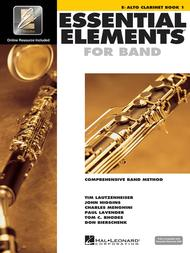 Essential Elements for Band - Eb Alto Clarinet Book 1 with EEi