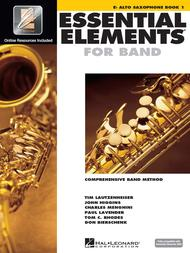 Essential Elements for Band - Eb Alto Saxophone Book 1 with EEi