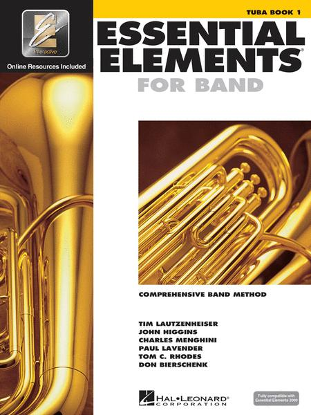 Essential Elements for Band - Tuba Book 1 with EEi