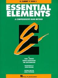 Essential Elements - Book 2 (Bb Clarinet) - Book only