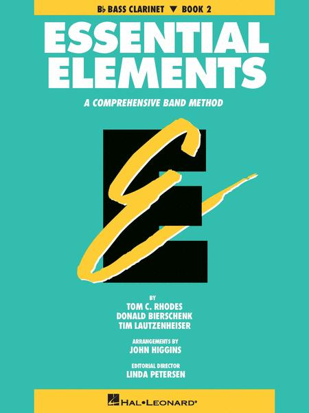 Essential Elements - Book 2 (Bb Bass Clarinet) - Book only