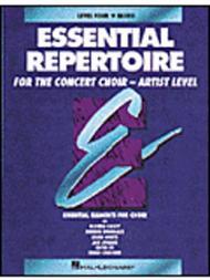Essential Repertoire for the Concert Choir - Artist Level