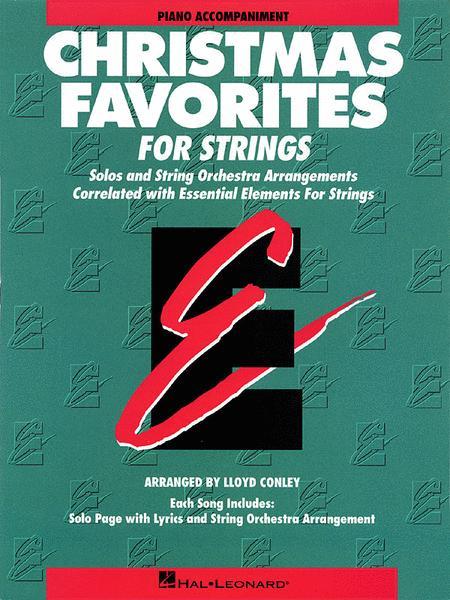 Christmas Favorites - Piano Accompaniment