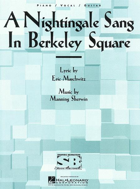 A Nightingale Sang In Berkely Square