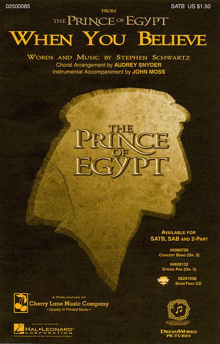 When You Believe (from The Prince or Egypt)