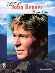Best Of John Denver - Piano Solos Piano Solo  ByJohn Denver