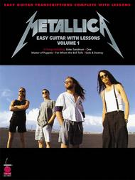 Easy Guitar With Lessons, Volume 1 					 					 By Metallica