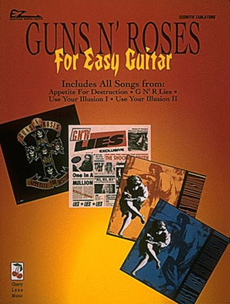 Guns N' Roses For Easy Guitar