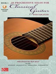 39 Progressive Solos For Classical Guitar - Book 1