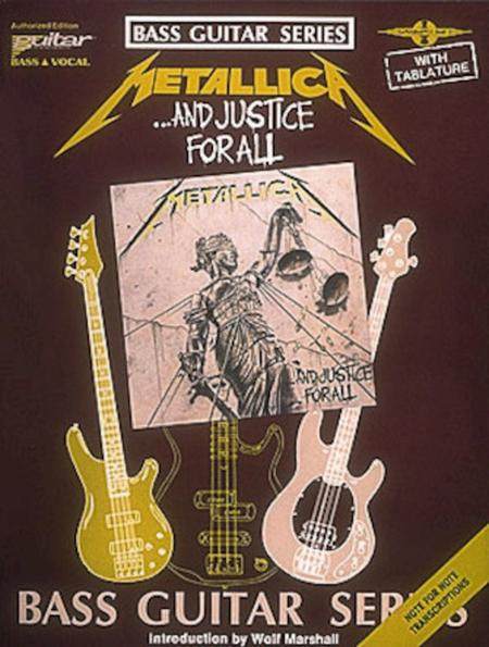 And Justice for All - Bass
