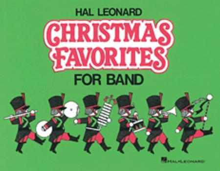 Hal Leonard Christmas Favorites for Marching Band (Level II) - Eb Alto Saxophone