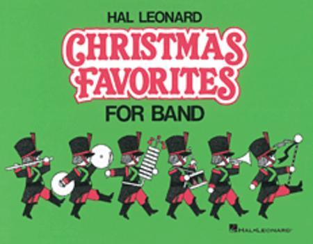 Hal Leonard Christmas Favorites for Marching Band (Level II) - Eb Baritone Saxophone