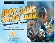Jock Jams Super Book - Bb Tenor Saxophone