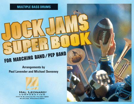 Jock Jams Super Book - Multiple Bass Drums