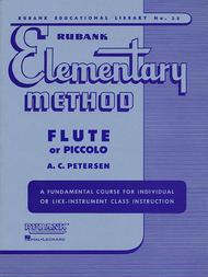 Rubank Elementary Method - Flute Piccolo