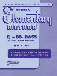 Rubank Elementary Method - Eb/BBb Bass (Tuba-Sousaphone)