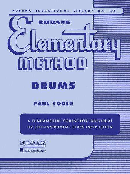 Rubank Elementary Method - Drums