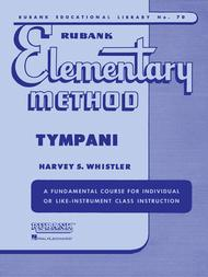 Rubank Elementary Method - Timpani