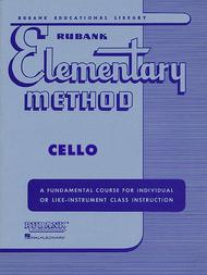 Rubank Elementary Method - Cello