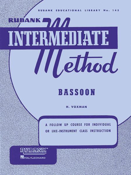 Rubank Intermediate Method - Bassoon