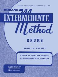 Rubank Intermediate Method - Drums