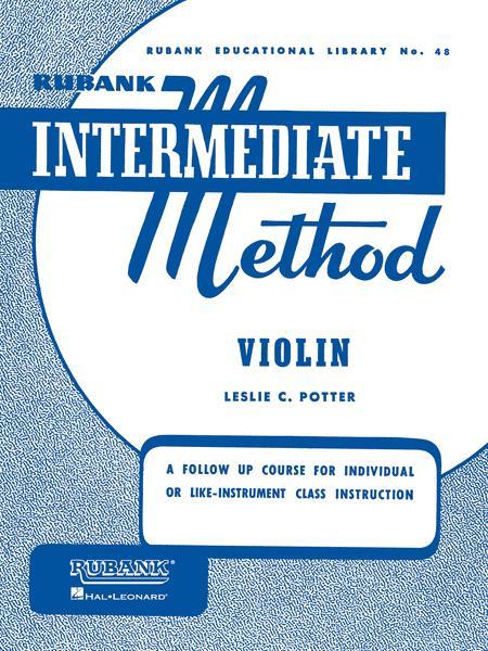 Rubank Intermediate Method - Violin