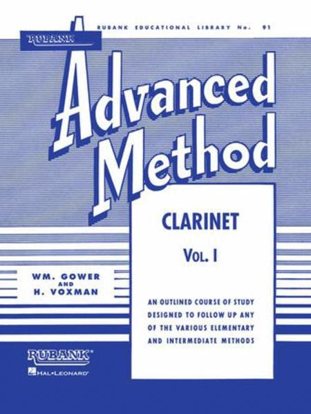 Rubank Advanced Method -  Volume 1 (Clarinet)