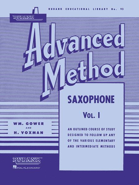 Rubank Advanced Method - Saxophone Vol.1
