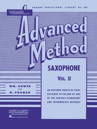Rubank Advanced Method - Volume 2 (Saxophone)
