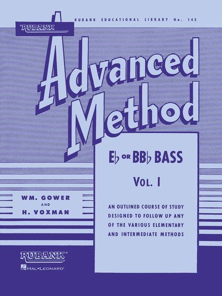Rubank Advanced Method - E Flat Or BB Flat Bass Vol.1