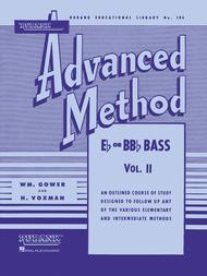 Rubank Advanced Method - E Flat Or BB Flat Vol.2