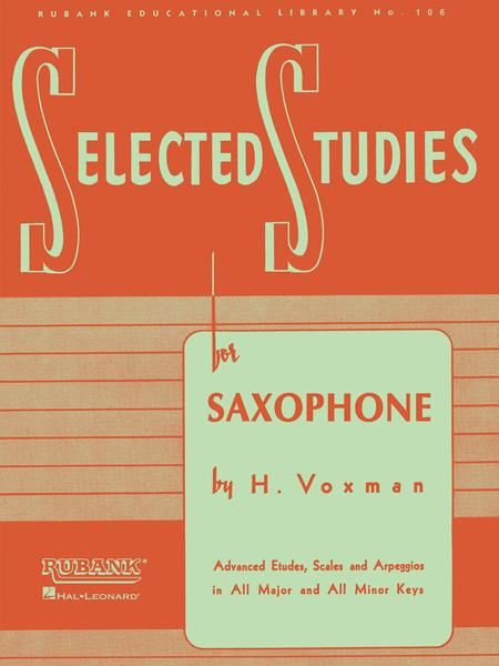 Selected Studies for Saxophone