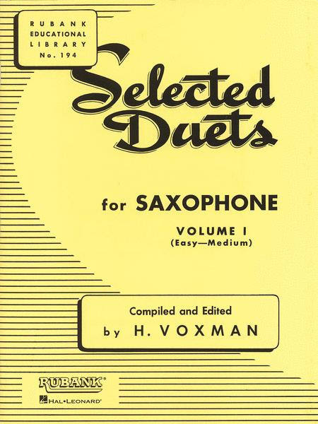 Selected Duets - Saxophone (Volume 1)