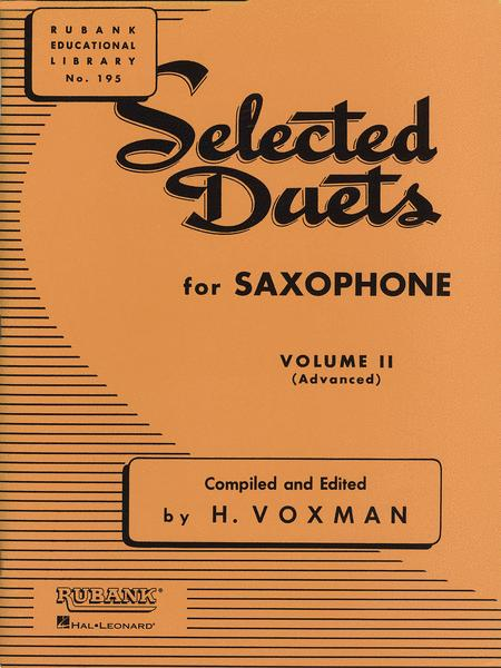 Selected Duets - Saxophone (Volume 2)