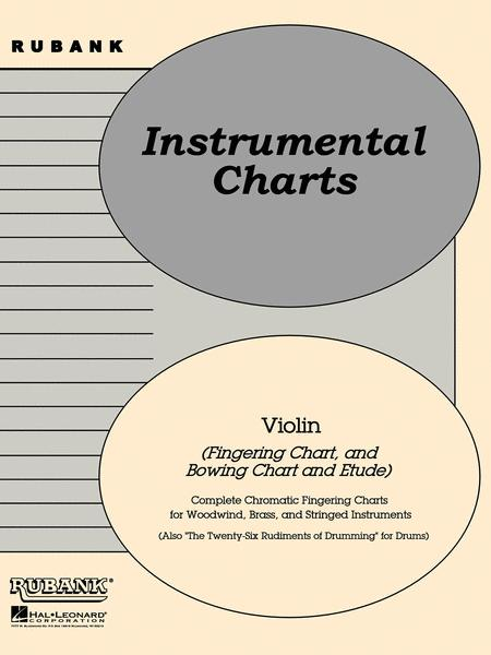 Rubank Position/Bowing Charts - Violin