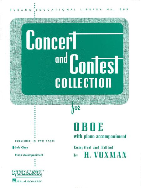 Concert and Contest Collection  - Oboe (Instrumental Methods / Oboe solo part)