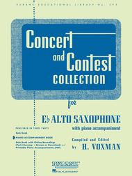 Concert and Contest Collections  - Alto Saxophone (Piano Accompaniment)