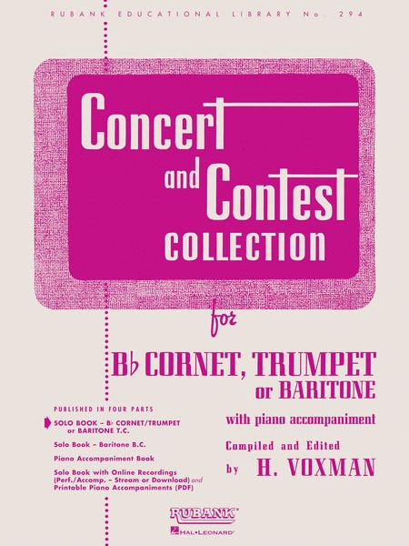 Concert and Contest Collection  - Trumpet/Cornet/Baritone (Trumpet/Cornet/Baritone T.C. Solo Part)