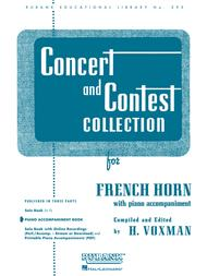Concert and Contest Collections - French Horn (Piano Accompaniment Part)