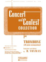 Concert and Contest Collections - Trombone (Trombone Solo Part)