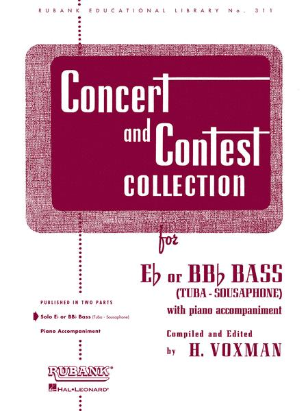 Concert and Contest Collections  - Tuba (Tuba Solo Part)