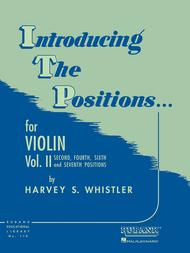 Introducing The Positions, Volume 2 - Violin