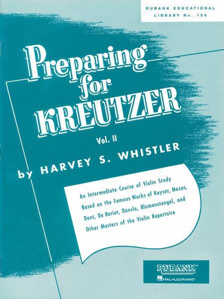 Violin Methods And Studies Preparing For Kreutzer - Volume 2